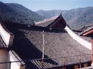 浙江省太白山天童寺