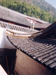 浙江省天台山のお寺